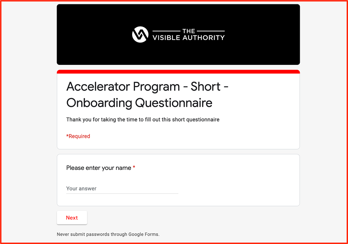 Backstage onboarding - The Visible Authority - Luk Newsletter