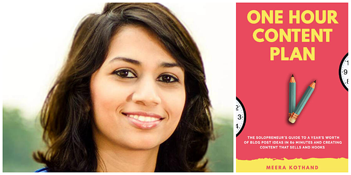 'One Hour Content Plan' by Meera Kothand
